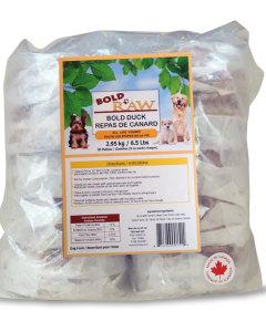 Bold Raw (Dog) - Natural Duck - 6.5 lbs