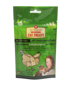 JD Farms - (cat) Treat - Freeze-dried Specialty Chicken Breast 30 g