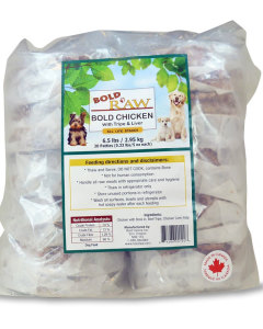 Bold Raw (Dog) - Natural Chicken - 6.5 lbs