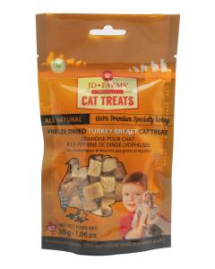 JD Farms - (cat) Treat - Freeze-dried Specialty Turkey Breast 30 g