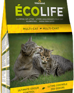 Intersand - Eco Life Multi Cat Natural Cat Litter