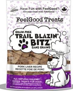 Feel Good - Grain Free Trail Blazin'Bitz - Pork Liver 250 g