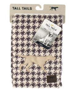 Tall Tails - Fleece Blanket - Houndstooth