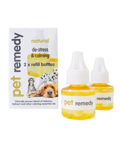Pet Remedy - Calming Diffuser Refill 2 pack for Dogs and Cats