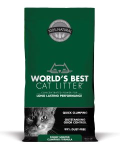 World's Best Cat Litter - Forest Scented (Dark Green)