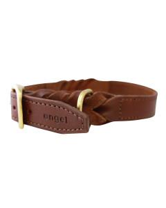 Angel - Leather Braided Collar
