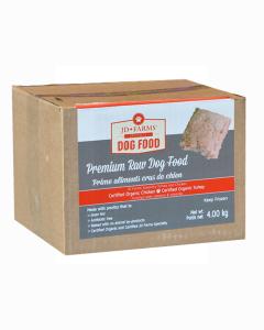 JD Farms - (dog) Raw - Specialty Turkey & Organic Chicken (95%)