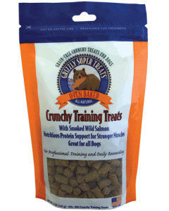 Grizzly - Salmon Crunchy Training Treats for Dogs (5 oz)