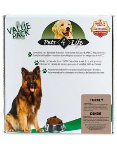 Pets 4 Life (dog) - Raw - Canine Turkey -