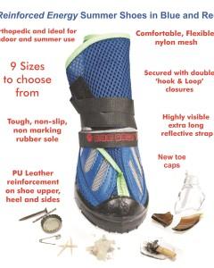 NEO-PAWS Footwear Summer Reinforced Energy