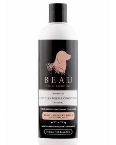 Beau Shampoo - Moisturizing with Oatmeal and Aloe Formula 12 oz