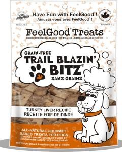 Feel Good - Grain Free Trail Blazin'Bitz - Turkey Liver 250 g