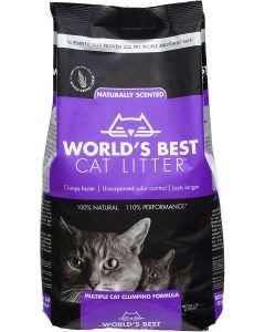 World's Best Cat Litter - Scented (Purple)