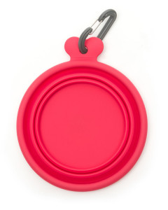 Messy Mutts - Silicone Collapsible Bowl - Watermelon
