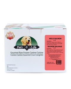 Pets 4 Life (dog) - Raw - Canine Salmon -