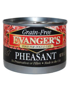 Evanger's - (Dog/Cat) Canned - Grain-Free Pheasant 6 oz