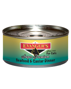 Evanger's - (Cat) Canned - Premium Seafood & Caviar Dinner 5.5 oz