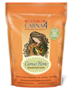 Carna4 - Flora Sprouted Seed Snacks 16 oz