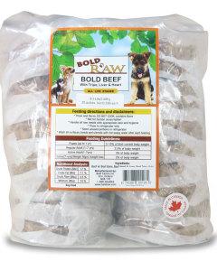Bold Raw (Dog) - Grass-fed Beef - 6.5 lbs