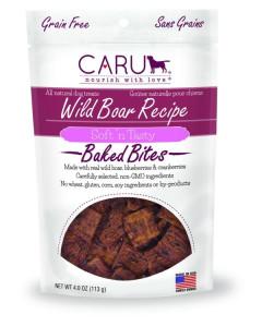 Caru - (Dog) Treats - WILD BOAR Recipe Soft 'n Tasty Bites 113 g
