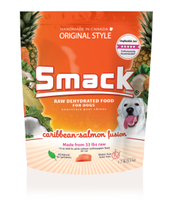 Smack- Dehydrated (Dog) - Caribbean-Salmon Fusion Crunchy Style