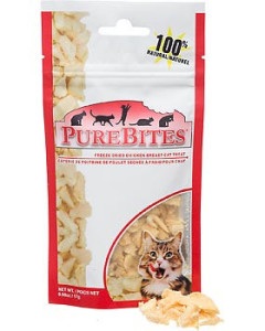 Pure Bites - Treats - Freeze-Dried Feline Chicken Breast 17 g