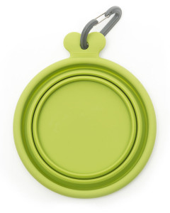 Messy Mutts - Silicone Collapsible Bowl - Green