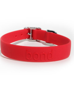 Bond - Waterproof Collars - Tomato Red