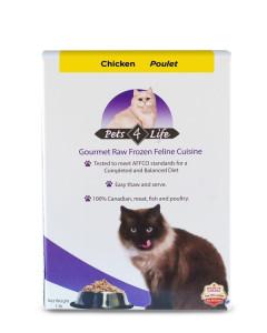 Pets 4 Life (cat) - Raw - Feline Chicken