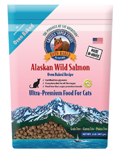 Grizzly Super Foods - Oven Baked (cat) - Alaskan Wild Salmon