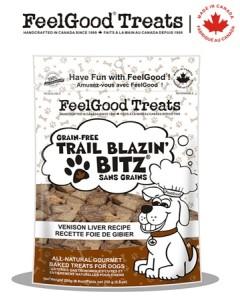 Feel Good - Grain Free Trail Blazin'Bitz - Venison Liver 250 g