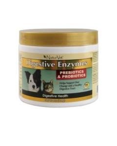 NaturVet - Digestive Enzymes PLUS Probiotics