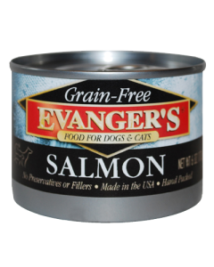 Evanger's - (Dog/Cat) Canned - Grain-Free Wild Salmon 6 oz