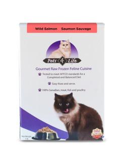 Pets 4 Life (cat) - Raw - Feline Salmon -
