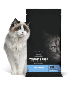 World's Best Cat Litter - Zero Mess Unscented