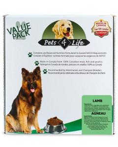 Pets 4 Life (dog) - Raw - Canine Lamb -