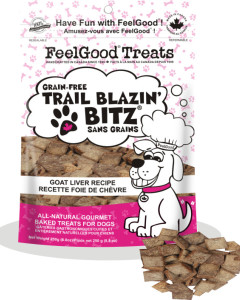 Feel Good - Grain Free Trail Blazin'Bitz - Goat Liver 250 g