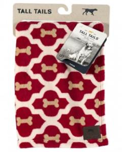 Tall Tails - Fleece Blanket - Red Bone