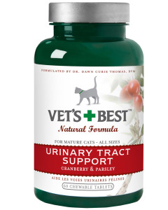 Vet's Best - Cat Urinary Tract Support Tabs 60 Ct