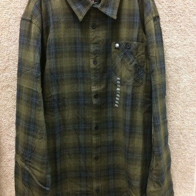BANK L/S FLANNEL MGN S