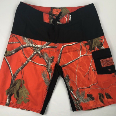 Shorts Métal mulisha 28 noir/orange