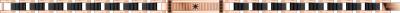 Zancan - Armband - Staal EHB203