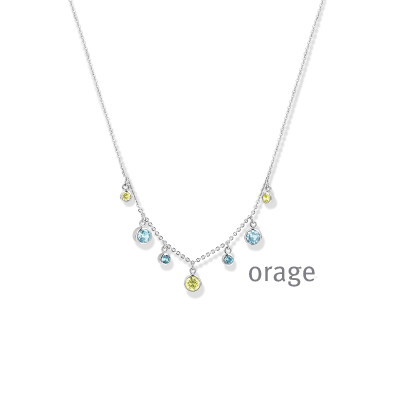 Orage - Halsketting in zilver - AS001