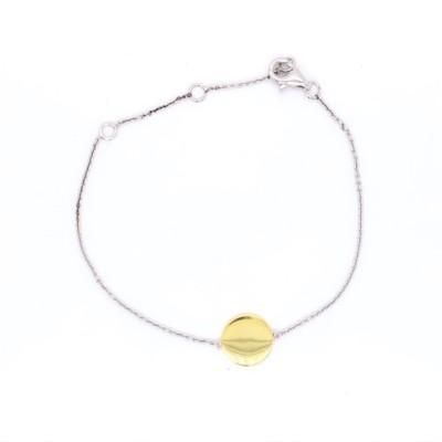 Armband met graveerplaatje zilver - 90-10336-003-99