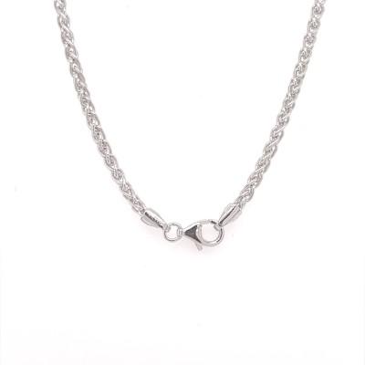 Ketting zilver 60cm - 20-10189-060-99