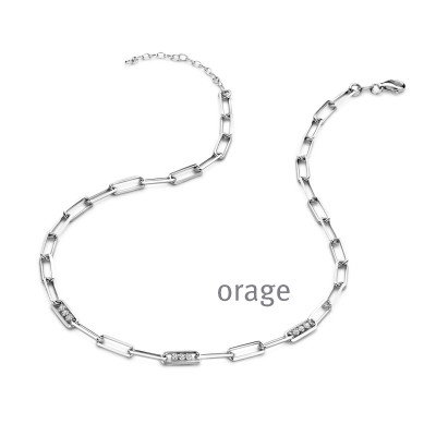 Orage - Collier in zilver K/1217/45-A - AS036