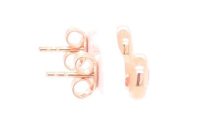 Zilveren oorringen rosékleurig 30-11035-016-99