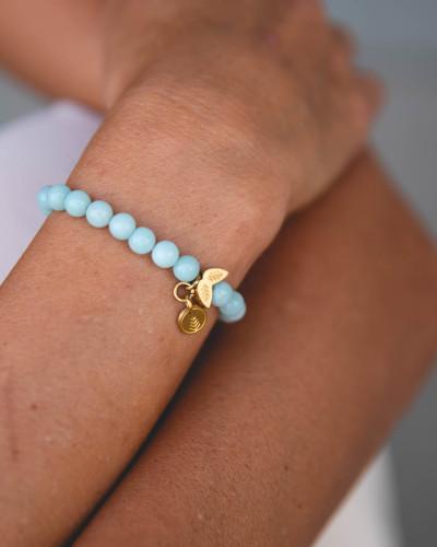 Didyma - Armband voor dames met edelstenen - Amazoniet - NE4 - XS