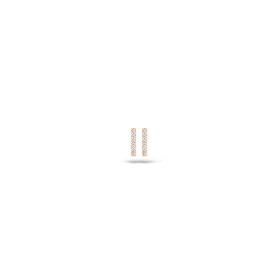 Blush - oorring 14kt rood goud - 7196RZI