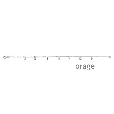 Orage - Armband in zilver - AS003